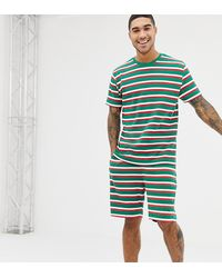 ASOS Christmas Short Pyjama Set - Green
