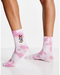 Skinnydip London Skinny Dip X Powerpuff Girls Blossom Socks - Pink
