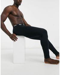 ASOS Meggings confort negros con cinturilla
