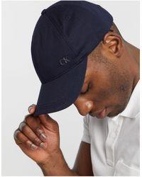 Calvin Klein Baseballpet - Blauw