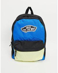 Vans Рюкзак Насыщенного Синего Цвета Sporty Realm Plus-темно-синий