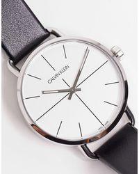 Calvin Klein Часы С Серебристым Циферблатом -серебряный - Металлик