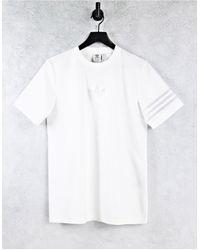 adidas Originals Bellista Logo Oversized Shirt - White