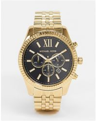 Michael Kors Золотистые Наручные Часы Mk8286 Lexington-золотистый - Металлик