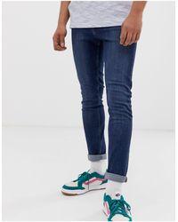 Cheap Monday Jeans skinny aderenti blu puro
