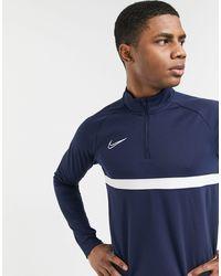 Nike Football Academy Drill Top - Blue