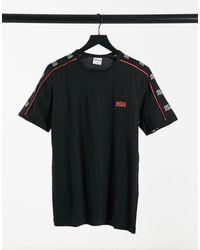 Jack & Jones Core - T-shirt Met Logo Op Mouwen - Zwart