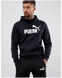 PUMA Essentials Logo Hoodie - Black