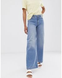 Dr. Denim Relaxed Fit Wide Leg Jean - Blue
