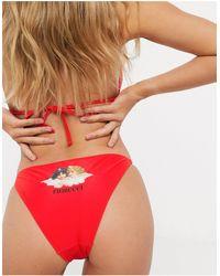 Fiorucci Angels Bikini Bottom - Red