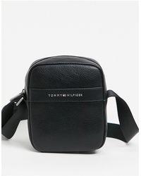 Tommy Hilfiger Modern - Mini Reporter Crossbody Tas - Zwart