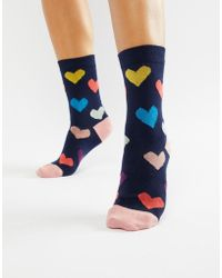 PS by Paul Smith - Ps By Paul Smith Hearts Sock - Lyst