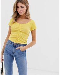 Hollister - Ruched Top - Lyst