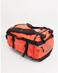 The North Face Base Camp - Borsa piccola a sacco arancione - Rosso