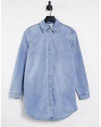 Object Longline Shirt - Blue