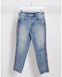 Blank NYC Straight Leg Jeans - Blue