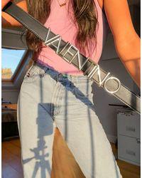 Valentino Emma Winter - Riem Met Logo - Zwart