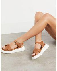 Fiorelli Nora Leather Chunky Sandals - Multicolour