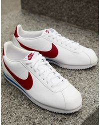 Nike Classic Cortez Running Shoes - White