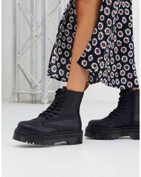 Dr. Martens Ботинки На Массивной Подошве - Черный
