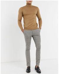 TOPMAN Smart Trousers - Grey