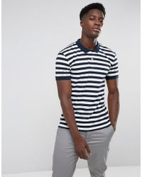 Minimum - Polo Shirt In Stripe - Lyst