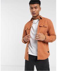 Jack & Jones - Оранжевая Рубашка Навыпуск Core-оранжевый - Lyst