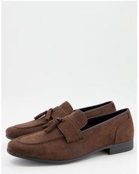 ASOS Tassel Loafers - Brown