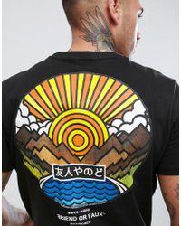 Friend or Faux - Wakayoma Back Print T-shirt - Lyst