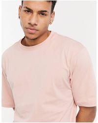 River Island Oversized T-shirt - Pink