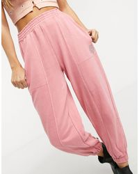 Bershka Oversized jogger - Pink