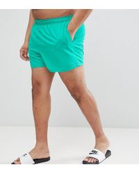 Nike - Exclusive Volley Swim Short In Green Ness8830-317 - Lyst