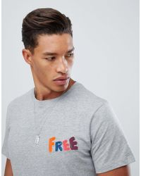 Jack & Jones - Originals T-shirt With Free Embroidery - Lyst