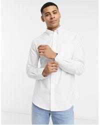Ben Sherman Оксфордская Рубашка С Длинными Рукавами -белый