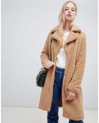 Vero Moda - Teddy Coat - Lyst