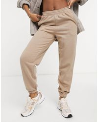 New Look Oversized Cuffed jogger - Brown