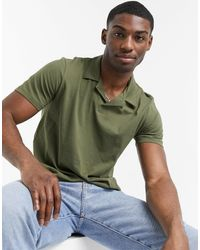 Only & Sons Revere Jersey Polo - Green