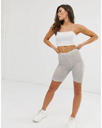 ASOS legging Short - White