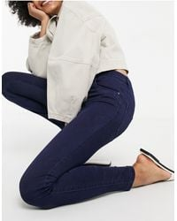 ONLY Midrise Skinny Jeans - Blue