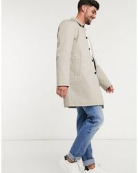 New Look Trench coupe droite - Neutre