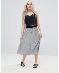B.Young - Pleated Midi Skirt - Lyst