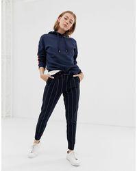 ONLY Stripe Trouser - Blue