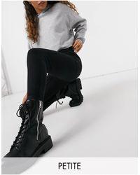 New Look Черные Моделирующие Джинсы Скинни -черный