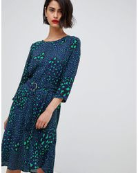 2nd Day - 2ndday Belted Dress In Multi Leopard Print - Lyst
