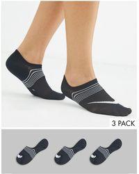 Nike Lichtgewicht Sokken - Zwart