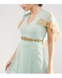 True Decadence - Occasion Beaded Belt With Hearts - Lyst