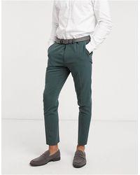 ASOS Super Skinny Suit Pants - Green
