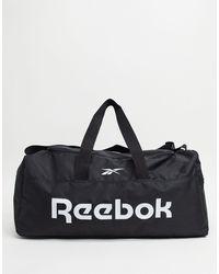 Reebok Черная Сумка-дафл С Ручками Training-черный Цвет