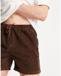ASOS Shorts marrones - Marrón