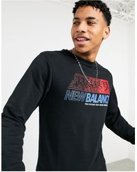 New Balance Speed Logo Sweatshirt - Black
